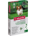 Pipetas Advantix para Perros de Hasta 4 Kilos - 4 Pipetas