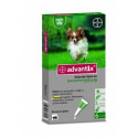 Pipetas Advantix para Perros - 6 Pipetas
