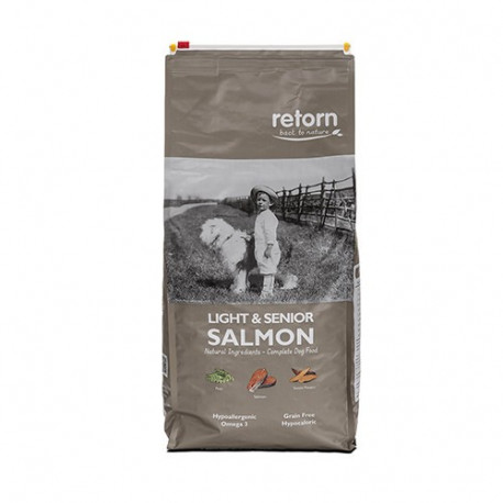 Retorn Light & Senior con Salmon para Perros