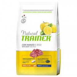 Trainer Natural Dog Small & Toy Manzo e Riso