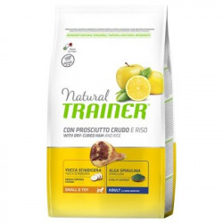 Trainer Natural Dog Small & Toy Prosciutto Crudo e Riso
