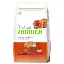 Trainer Natural Dog Medium Puppy & Junior Pollo Fresco