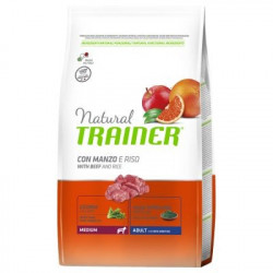 Trainer Natural Dog Medium Adult Manzo e Riso