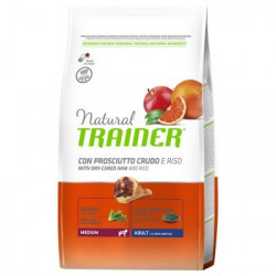 Trainer Natural Dog Medium Adult Prosciutto Crudo e Riso