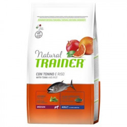 Trainer Natural Dog Medium Adult Pesce e Riso