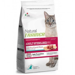 Trainer Natural Cat Adult Sterilised with Dry-Cured Ham