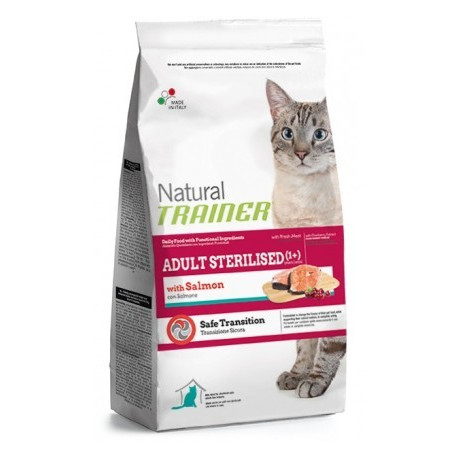 Trainer Natural Cat Adult Sterilised with Salmon