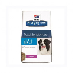 Hill's Prescription Diet Canine D/D Pato y Arroz para Perros