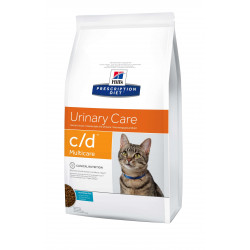 Hill's Prescription Diet Feline C/D con Pescado para Gatos