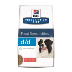 Hill's Prescription Diet Canine D/D Salmón y Arroz para Perros