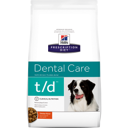 Hill's Prescription Diet Canine T/D para Perros