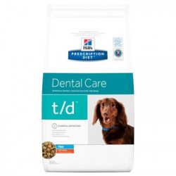 Hill's Prescription Diet Canine T/D Mini para Perros