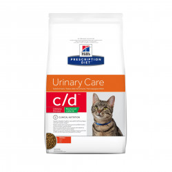 Hill's Prescription Diet Feline C/D Urinary Stress Reduced Calorie para Gatos