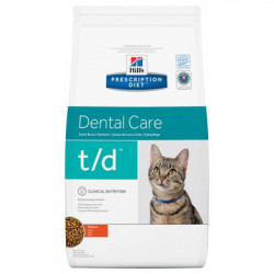 Hill's Prescription Diet Feline T/D para Gatos