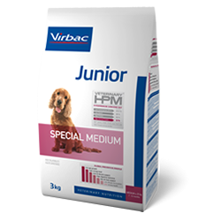 Virbac Junior Special Medium para Perros