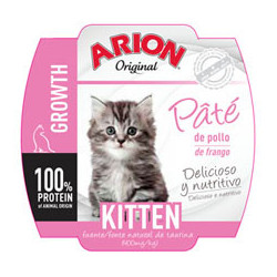 Arion Original Cat Wet Kitten 70g - Tarrina de Paté de Pollo