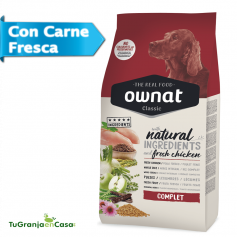 Ownat Dog Classic Complet saco 20 Kg - Pienso para perros adultos