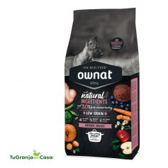 Ownat Dog Ultra Medium Junior - pienso para perros de raza mediana cachorros