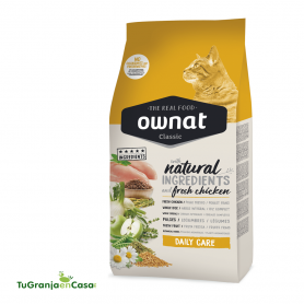 OWNAT CAT CLASSIC DAILY CARE SACO 15 KG