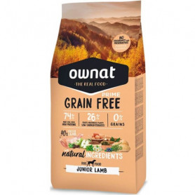 OWNAT DOG PRIME GRAIN FREE JUNIOR LAMB SACO 14 KG