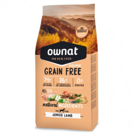 OWNAT DOG PRIME GRAIN FREE JUNIOR LAMB 3 KG
