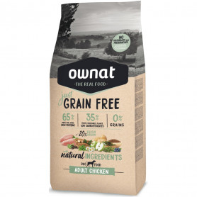 OWNAT DOG JUST GRAIN FREE ADULT CHICKEN 14 KG