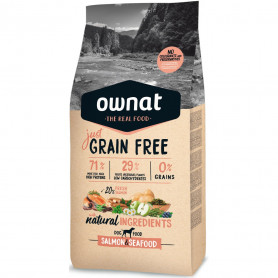 OWNAT DOG JUST GRAIN FREE SALMON & SEAFOOD SACO DE 14 KG