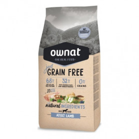 OWNAT DOG JUST GRAIN FREE ADULT LAMB 3 KG