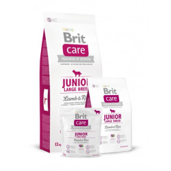 Brit Care Junior Large Breed Lamb & Rice saco de 3 kilos