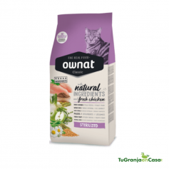 OWNAT CAT CLASSIC STERILIZED 4 KG