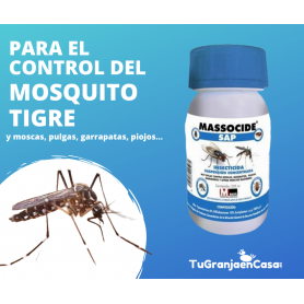 MASSOCIDE SAP INSECTICIDA CONCENTRADO 250 ML