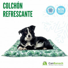 COLCHON REFRESCANTE COOL MAT GEL JUNGLE 76 X 66 CM