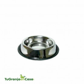 Comedero antideslizante Acero inoxidable 12 cm - 300 ml