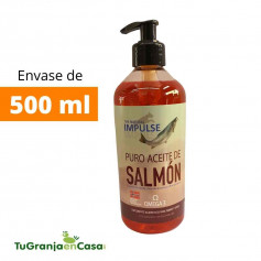 Aceite de Salmón de Noruega Impulse 500 ml