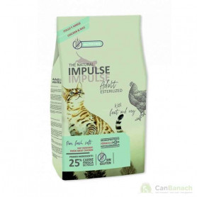 The Natural Impulse Cat Sterilized 8 Kilos