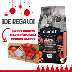 Pack Navideño Ownat Ultra Medium Lamb & Rice + Regalo Sweet Donuts