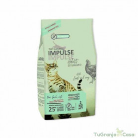 NATURAL IMPULSE CAT STERILIZED 2 KG