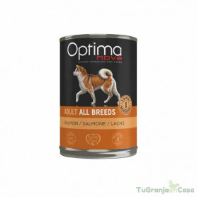 Optima Nova Lata All Breeds Salmón 400 gr