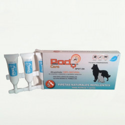 Pody Spot On - Pipetas Naturales para Perros (5 Pipetas)