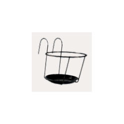 Soporte Single Maceta Balcón ø21cm - Primary Style Hana