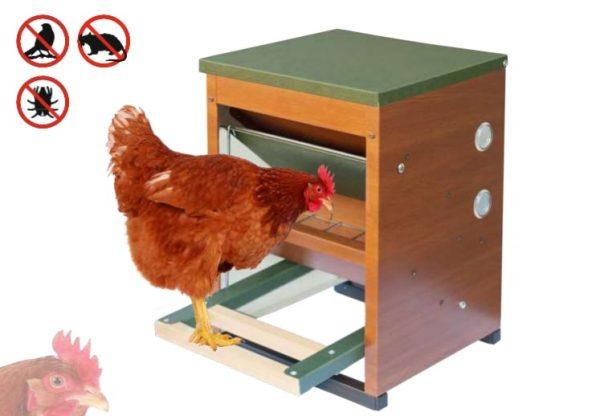 Instrucciones de montaje del comedero automático de gallinas