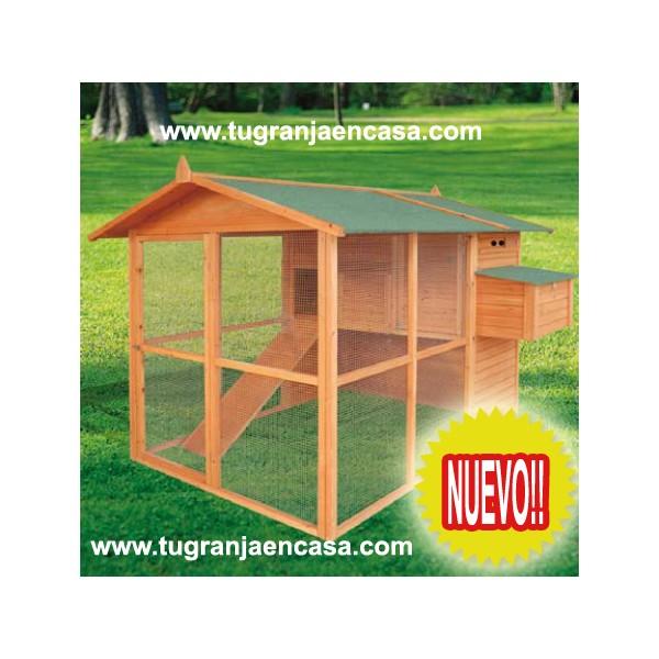 Animales de granja gallinas ponedoras cunicultura y - Prefabricados de madera ...